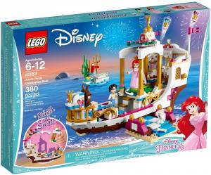 LEGO PRINCESS LA BARCA DELLA FESTA REALE DI ARIEL 41153