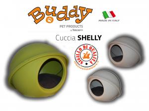 Cuccia Shelly 50 Buddy per Cani e Gatti completa di cuscino