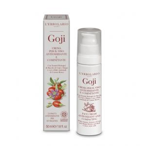 Crema per il Viso Antiossidante e Compattante Goji L'Erbolario