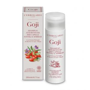 Shampoo Anti-Rottura per capelli sottili e sfibrati Goji L' Erbolario