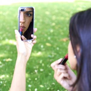 Cover custodia MIRROR con specchio per iPhone vari modelli