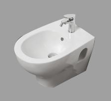Bidet sospeso per il bagno cm 52,5 x 35 Pratica Azzurra