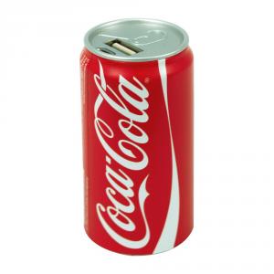 Coca Cola power bank batteria esterna caricatore universale 1850 mAh