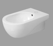 Bidet sospeso per il bagno cm 46 x 35 Mini Nuvola Azzurra