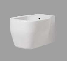 Bidet sospeso per il bagno cm 52 x 36 Glaze Azzurra