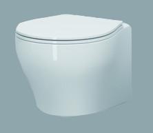Vaso sospeso per il bagno cm 50 x 40 Vera Azzurra