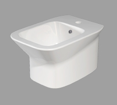 Bidet sospeso per il bagno cm 52 x 35 Prua Azzurra