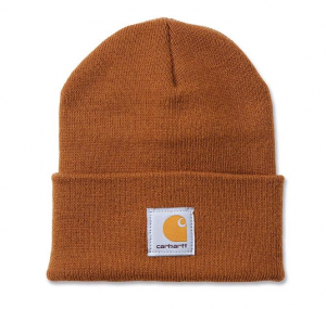 Acrylic Watch Hat Carhartt Brown
