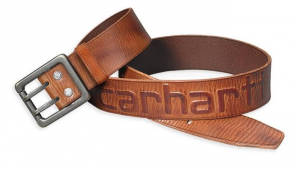 Carhartt Logo Belt Brown