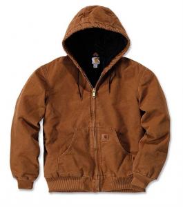 Sandstone Active Jacket Carhartt Brown