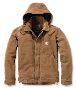 Sandstone Caldwell Jacket Carhartt Brown