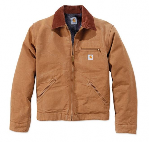 Duck Detroit Jacket Carhartt Brown