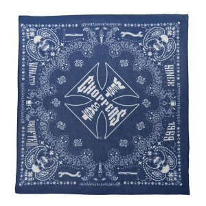 Bandana West Coast Choppers Handcrafted Blu