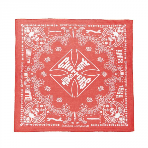 Bandana West Coast Choppers Handcrafted Rosso