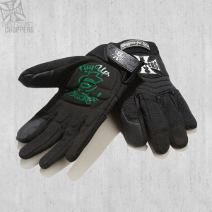 Guanti moto West Coast Choppers WCC Riding gloves Nero