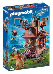 PLAYMOBIL FORTEZZA MOBILE DEI GUERRIERI 9340