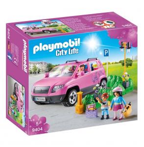 PLAYMOBIL FAMIGLIA AL PARCHEGGIO DELL'OUTLET 9404