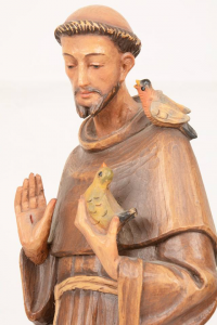 Statua San Francesco in legno VALGSF50 h. 50
