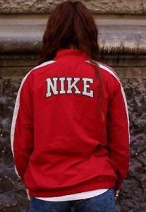 Vintage Nike windbreaker bomber Jacket '90