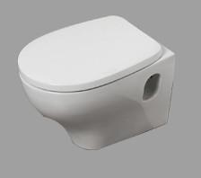 Vaso sospeso per il bagno cm 52,5 x 35 Pratica Azzurra