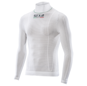 LUPETTO MANICHE LUNGHE SUPERLIGHT SIXS TS3L CARBON UNDERWEAR WHITE CARBON