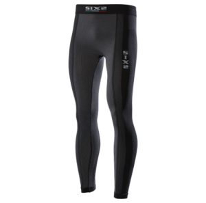 LEGGINGS SUPERLIGHT SIXS PNXL CARBON UNDERWEAR BLACK CARBON