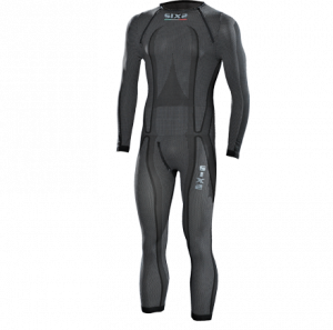 SOTTOTUTA INTEGRALE SUPERLIGHT SIXS STXL CARBON UNDERWEAR BLACK CARBON