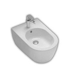 Bidet sospeso per il bagno cm 54 x 35,5 Fusion Hatria