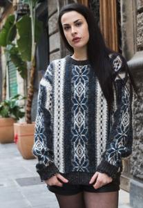 Maglione vintage multicolor anni 90