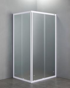 BOX DOCCIA RETTANGOLARE 70x100 in cristallo temperato da 4 mm
