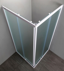 BOX DOCCIA QUADRATO 70x70 in cristallo temperato 4 mm