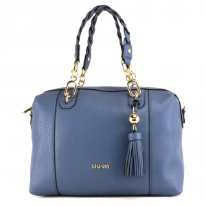 Hand and shoulder bag Liu Jo ARIZONA A18053 E0086 BLU POLVERE