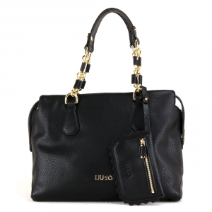 Hand and shoulder bag Liu Jo DETROIT A18002 E0027 NERO