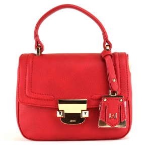 Hand and shoulder bag Liu Jo LONG ISLAND A18142 E0037 CHERRY RED