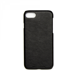 Cover SKIN nera in ecopelle per iphone vari modelli