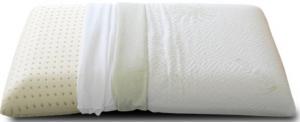 Cuscino lattice con tessuto Aloe Vera