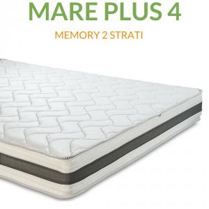 Materasso Memory Ortopedico a onda 4cm H22 | Mare Plus 4 |Prezzi a partire da