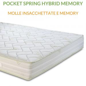 Materasso Molle Insacchettate e Memory | Pocket Spring Hybrid Memory