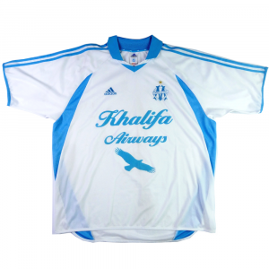 2001-02 Olympique Marseille Maglia Home XXL (Top)