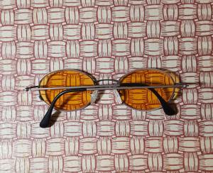 Occhiali da sole vintage made in Italy  ANNI '80 '90 lenti arancio