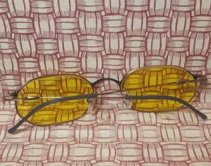 Occhiali da sole vintage made in Italy  ANNI '80 '90 lenti gialle