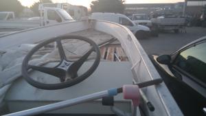 Barca Canadian in alluminio