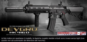 HK 416 D DEVGRU - RECOIL SHOCK - NEXT GENERATION - BLOW-BACK MARUI
