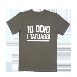 T-shirt IO ODIO I TATUAGGI Oversize