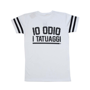 Perforated oversize T-shirt I ODIO I TATUAGGI