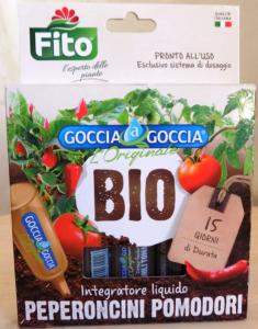 Fito Bio integratore goccia a goccia peperoncini e pomodori
