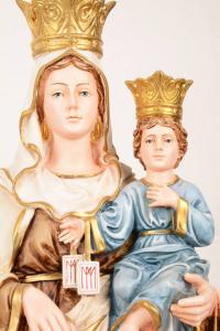 Statua Madonna del Carmine in resina PA614 h. 60