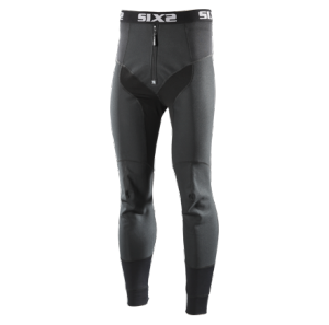 PANTALONI MOTO WIND STOPPER SIXS WTP ALL BLACK
