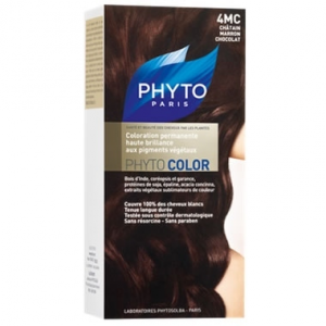 PHYTO COLORAZIONE PERMANENTE PHYTOCOLOR N°4MC CASTANO MARRONE