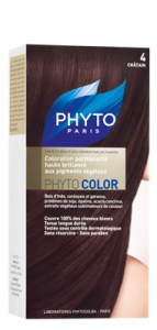 PHYTO COLORAZIONE PERMANENTE PHYTOCOLOR N° 4 CASTANO SCURO
